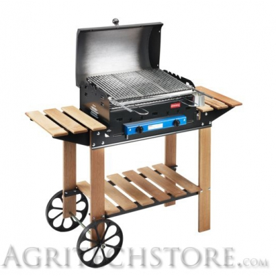 Barbecue Ferraboli, Fels Holz Art.052