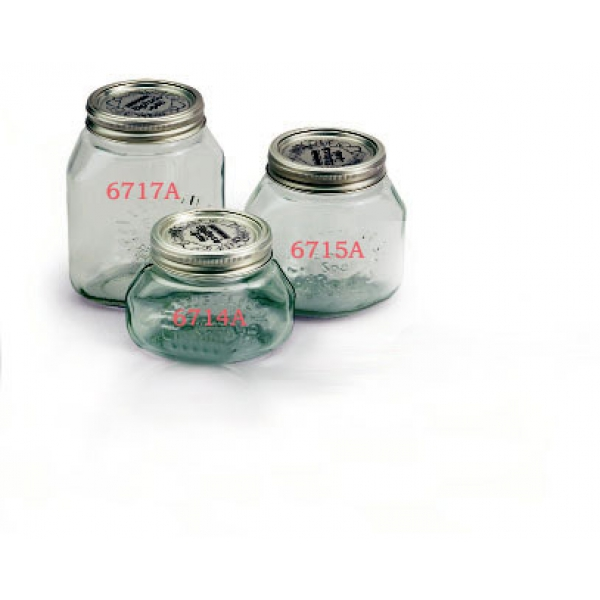 Packung 6 Gläser zu 3/4 Liter