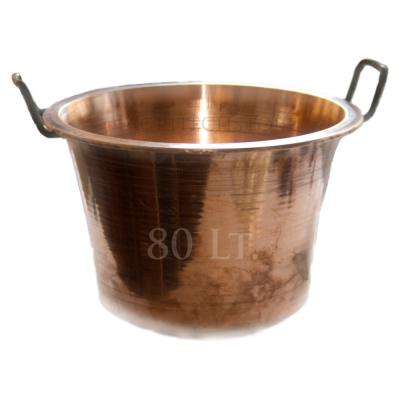 Kessel - Caldera Kupfer 80 Liter