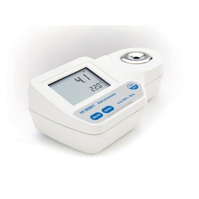 Digitale Refraktometer 0-85% Brix HALLO 96801