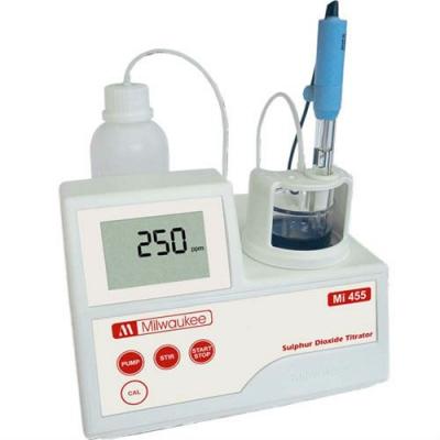 Mini-Titrator für Schwefeldioxid Mi455