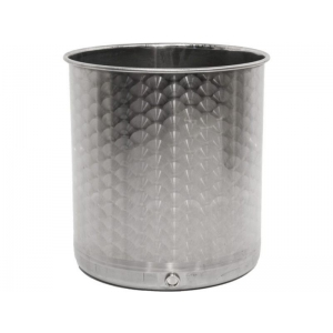 Container aus Edelstahl 50 Liter
