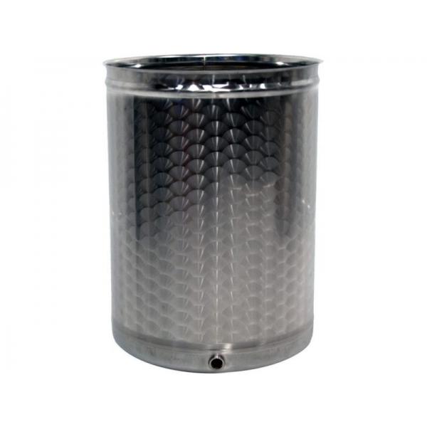 Container aus Edelstahl 65 Liter