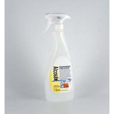 Alcosan - Waschmittel Sanitizer Alcohol 750 ml.