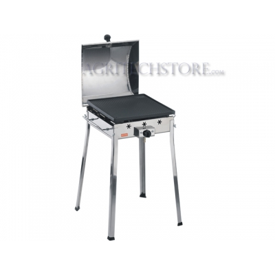 Barbecue Ferraboli Gas Mono Inox Art.091