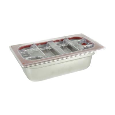 Heißer Stahl H 100 1/3 Gastronorm-Deckel und tritan