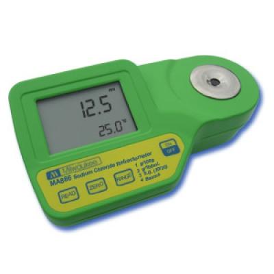 Digitale Refraktometer zur Messung von Natriumchlorid MA886