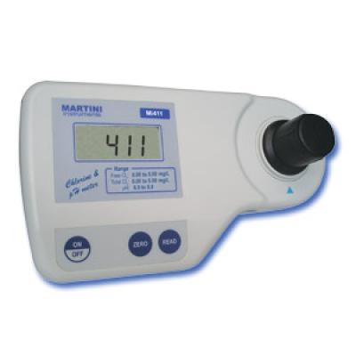 Photometer kombiniert 3 in 1: pH, freies und Gesamtchlor
