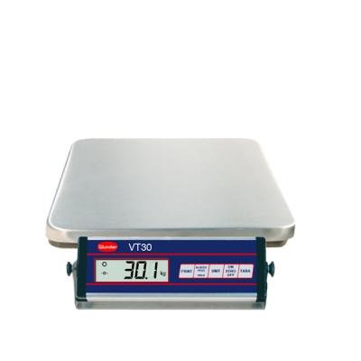Libra VT30 aus rostfreiem Edelstahl - Fassungsvermögen 30 kg.