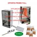 Smoker bieten Full externen Kit, Starter-Kits und 6 Kg.Cippato