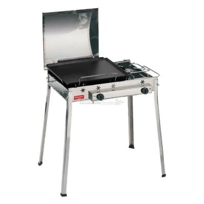 Barbecue Ferraboli, Gusseisen Gas Stahl kombiniert Art.093