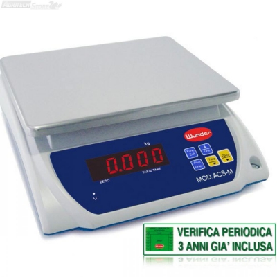 "Scales Tabelle ""Certified"" Mehrzweckbereich 15/30 Kg"