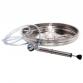 Schwimmende Stahlluftschacht aus Edelstahl für 50 oder 65 Liter.