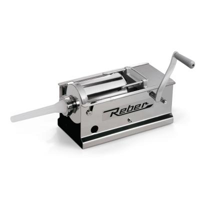 Reber Edelstahl-Absackmaschine bei 2 Geschwindigkeiten 8966 N * 3 kg.