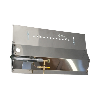 Panel Gas Bräter 50 cm 4 Lance