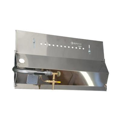 Panel Gas Bräter 70 cm 4 Lance
