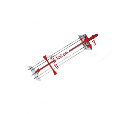 Sunburst Satelliten Rotisserie 4 Lance 100 cm. 0546B + Auction