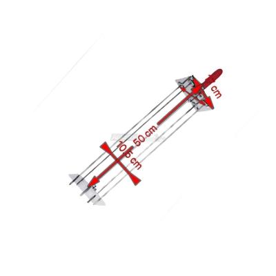 Sunburst Satelliten Rotisserie 4 Lance 50 cm. 0545 + Auction